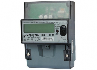 Счетчик электроэнергии INCOTEX Меркурий 201.8